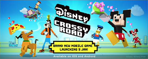 Disney Crossy Road จะเปิดให้ดาวน์โหลดในแถบเอเชียตะวันออกเฉียงใต้ต้นปี 2017